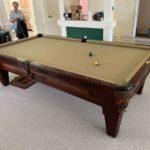 9' 3 Piece Slate Pool Table