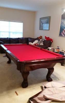 8 ft Westwood Pool Table
