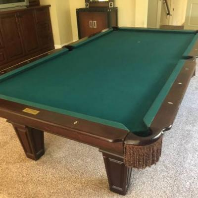 9 ft Connelly Slate Pool Table