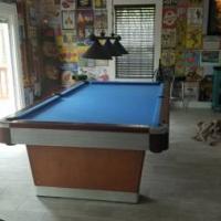 9 foot Victor Pool Table